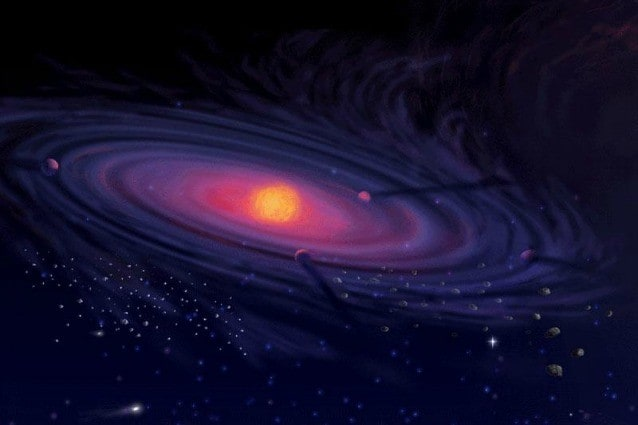Come la Terra nacque dallo scontro tra Giove e Saturno