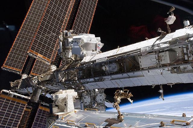 AMS installato sull'ISS