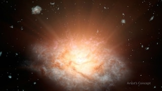 Scoperta la Galassia più luminosa dell'Universo