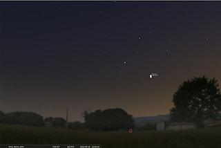 Il 'bacio' di Giove e Venere del 30 giugno: occhi al cielo per vedere l'incontro