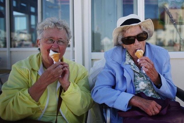 Gli anziani soffrono molto il caldo