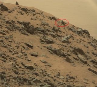 I cacciatori di alieni hanno trovato una piramide su Marte