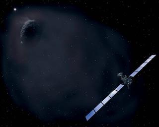 Come nasce la chioma di una Cometa?