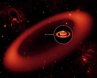 L'ultimo immenso anello di Saturno
