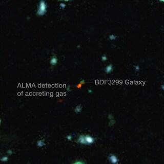 Osservata la formazione delle galassie nell'Universo primordiale