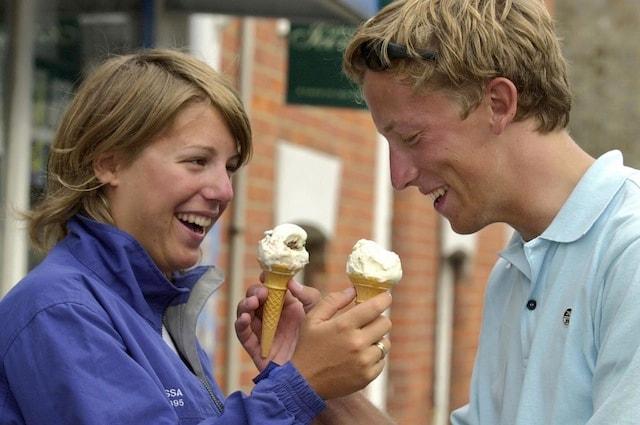 I benefici del gelato sull'umore