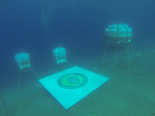 La serra è sott'acqua, nel Mar Ligure