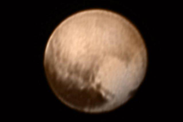 Immagine ricevuta l'8 luglio (Credits: NASA–JHUAPL–SWRI)