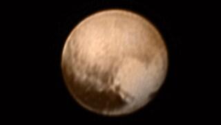 Ecco Plutone in primo piano (o quasi)
