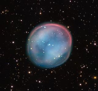 Il fantasma di una stella nei cieli