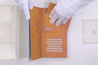 Inventato il libro che rende potabile l'acqua contaminata dai batteri