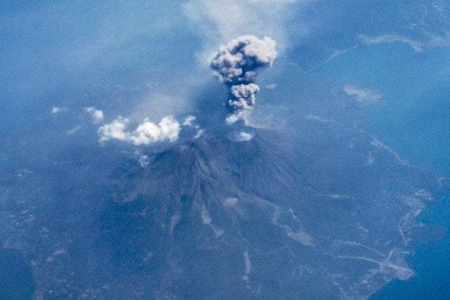 Il vulcano Sakurajima