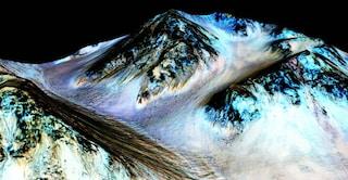 Gli oceani marziani avevano onde altissime, ma lente