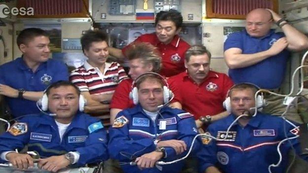 foto di gruppo – ESA