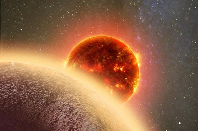 Rappresentazione artistica (Harvard–Smithsonian Center for Astrophysics)
