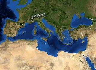 Quando il Mediterraneo era una valle arida