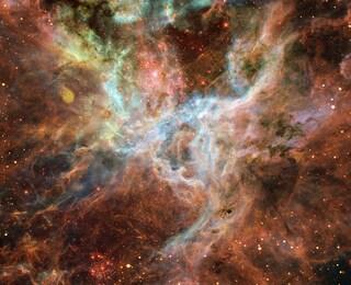 Una sorgente gamma al di fuori della Via Lattea