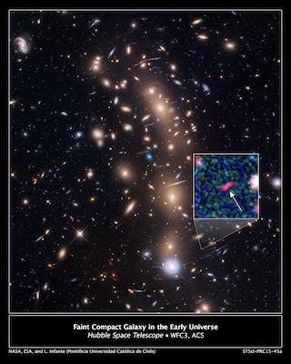 Hubble scruta nell'Universo primordiale