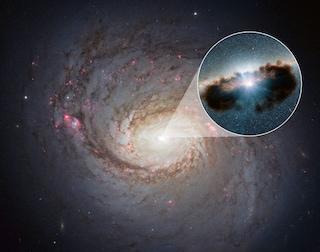 Cosa c'è attorno ad un buco nero?
