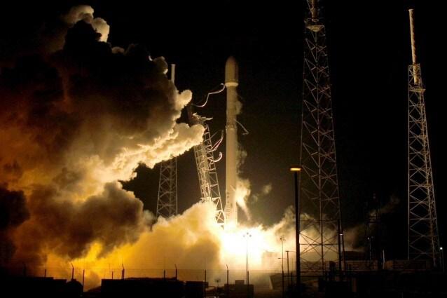 Il lancio da Cape Canaveral
