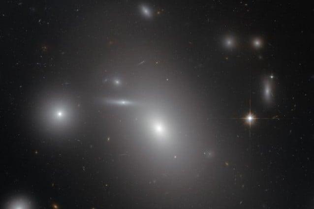 La galassia ellittica NGC 4889 (Credit: NASA/ESA)