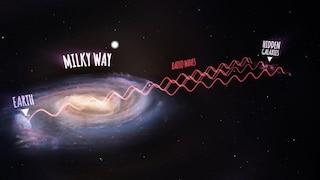 Le galassie nascoste al di là della Via Lattea