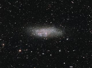 Una galassia solitaria