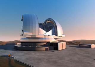 Il super telescopio europeo E-ELT parla italiano