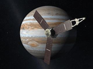 Juno e Giove, primo incontro ravvicinato tra la sonda e il Pianeta