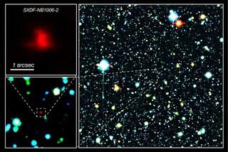 Il più distante ossigeno dell'Universo