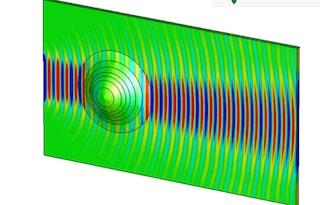 Un mantello dell'invisibilità che fa sparire le superfici curve