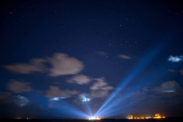 Luci da Cape Canaveral. Credit: NASA/Joel Kowsky