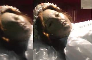 Vi spieghiamo perché il video della statua di Santa Inocencia che apre gli occhi è falso