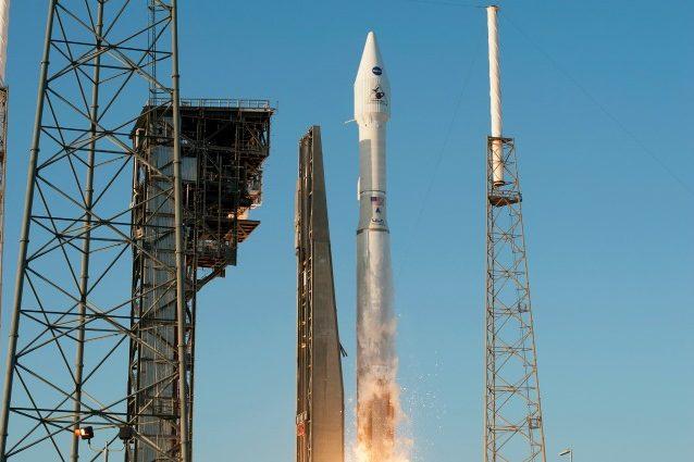 Il Liftoff di OSIRIS–REx (Credit: NASA/Sandy Joseph e Tim Terry)
