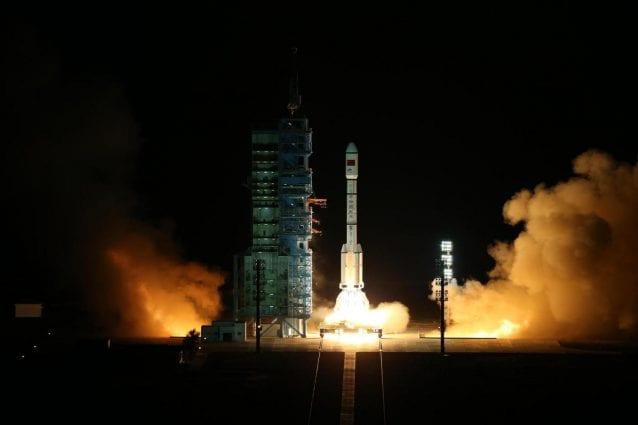 Il lancio di Tiangong–2