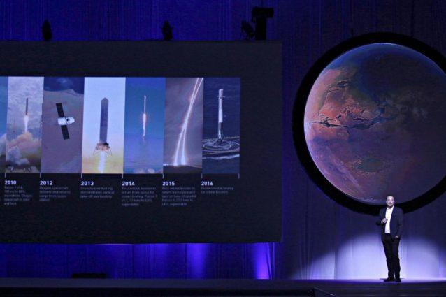Il discorso di Elon Musk allo IAC