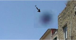"""""""Svistamento"""" di un Ufo a Napoli"""