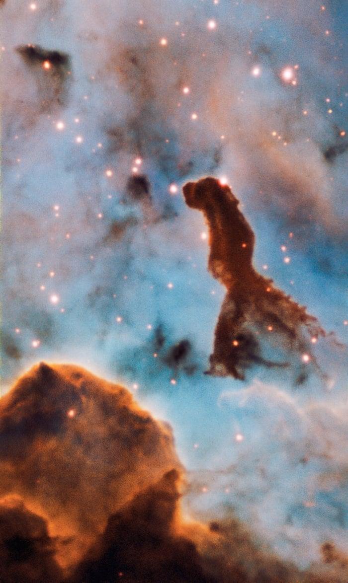 L'ammasso stellare Trumpler 14 all'interno della Nebulosa Carena (Crediti: ESO/A. McLeod)