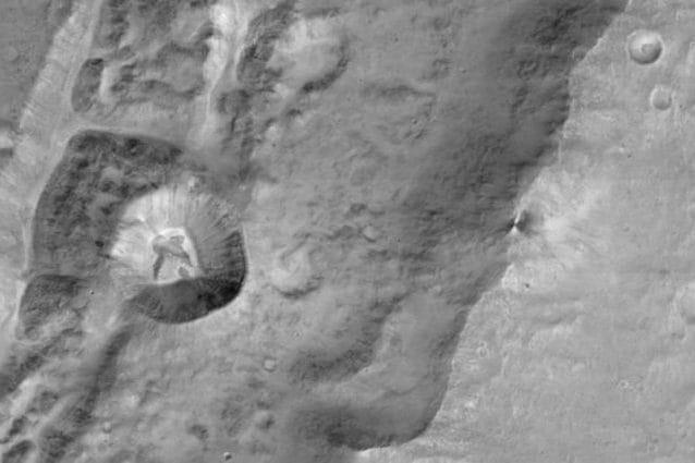 Un dettaglio di Marte