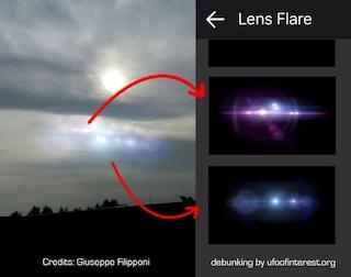 Ufo di Lecco: solo un esercizio fotografico | Svistamenti