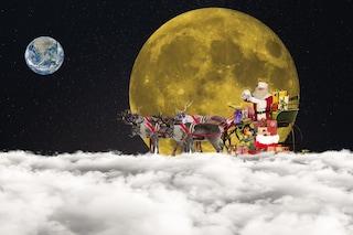 """Quattro """"svistamenti"""" della slitta di Babbo Natale"""