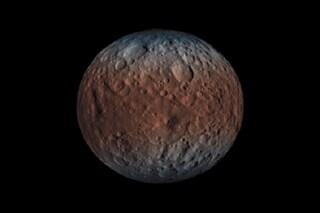 Svelato il segreto di Cerere: il pianeta nano è pieno di ghiaccio