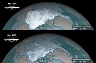 La sofferenza dell'Artico: ghiacciai ai minimi storici a causa del riscaldamento globale