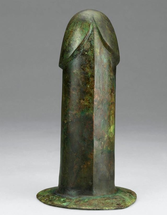 Dildo in bronzo - Nanjing Museum