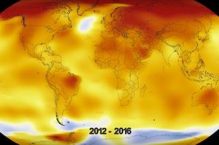 100 anni di riscaldamento globale: il video della NASA che mette ansia in soli 20 secondi