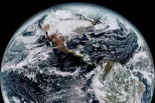 Le prime spettacolari immagini della Terra vista dal satellite GOES-16