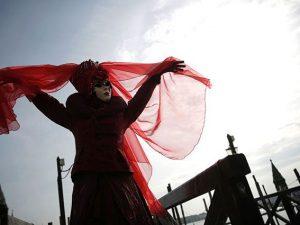 Maschera del Carnevale di Venezia (Getty).