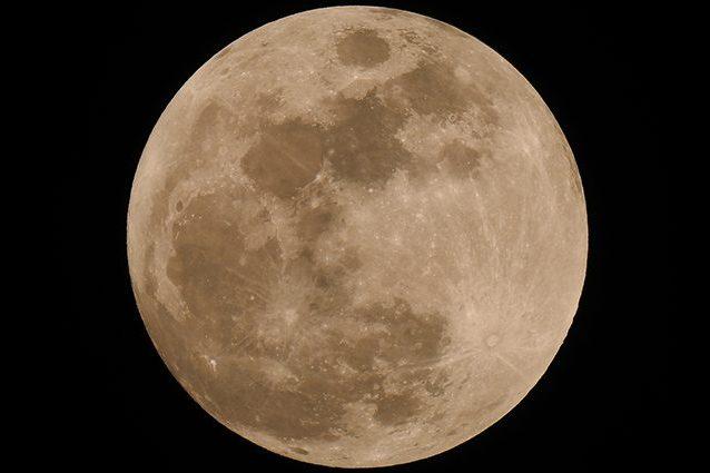La Luna piena: 11 febbraio 2017