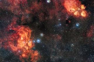 Zampa di Gatto e Guerra e Pace, due nebulose in 2 miliardi di pixel: ecco la foto
