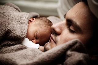 I papà trentenni soffrono della depressione post-partum